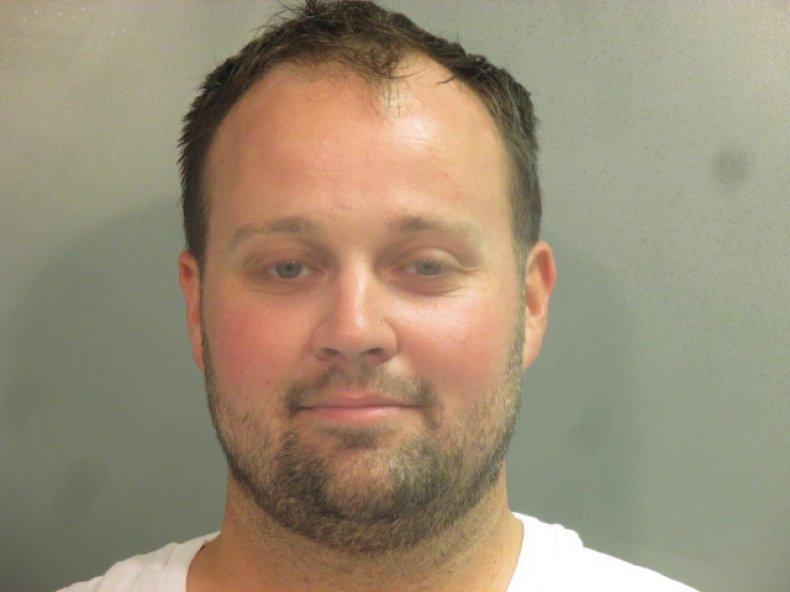 Josh Duggar arrest jail Arkansas molest molestation