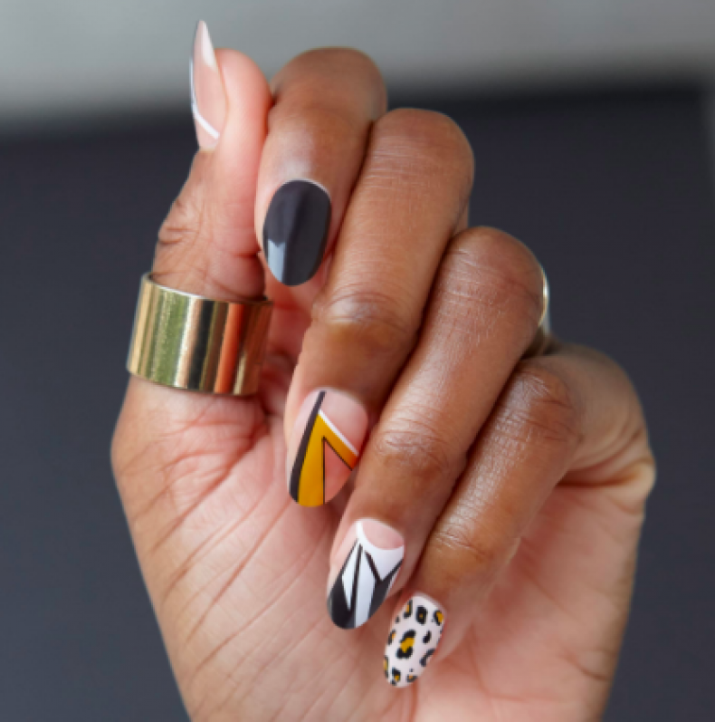Best nail polish strips and stickers 2