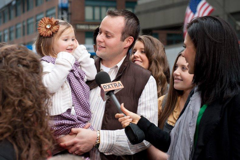 Josh Duggar and daughter