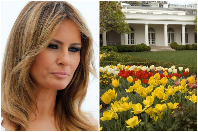 Petition to reverse Melania Trump Rose Garden