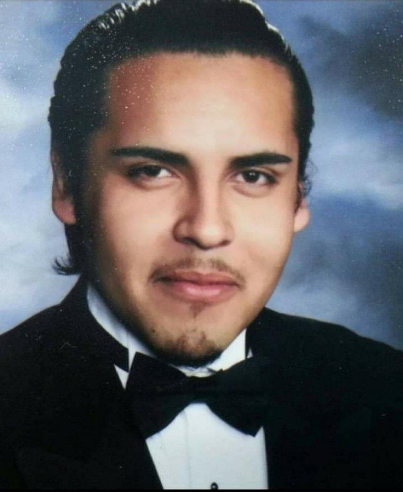 Mario Gonzalez in high school