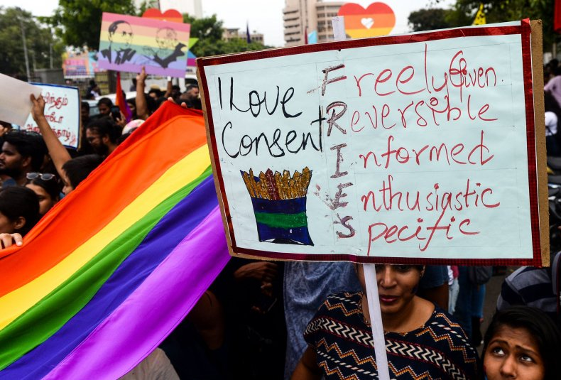 LGBT supporters Chennai