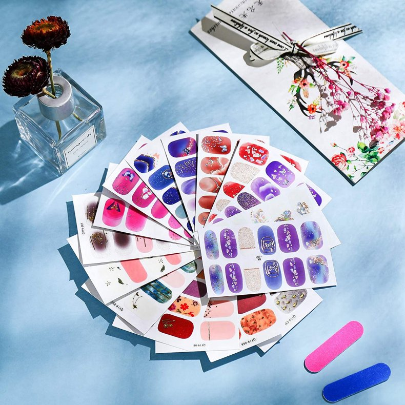 Best nail polish strips and stickers 6