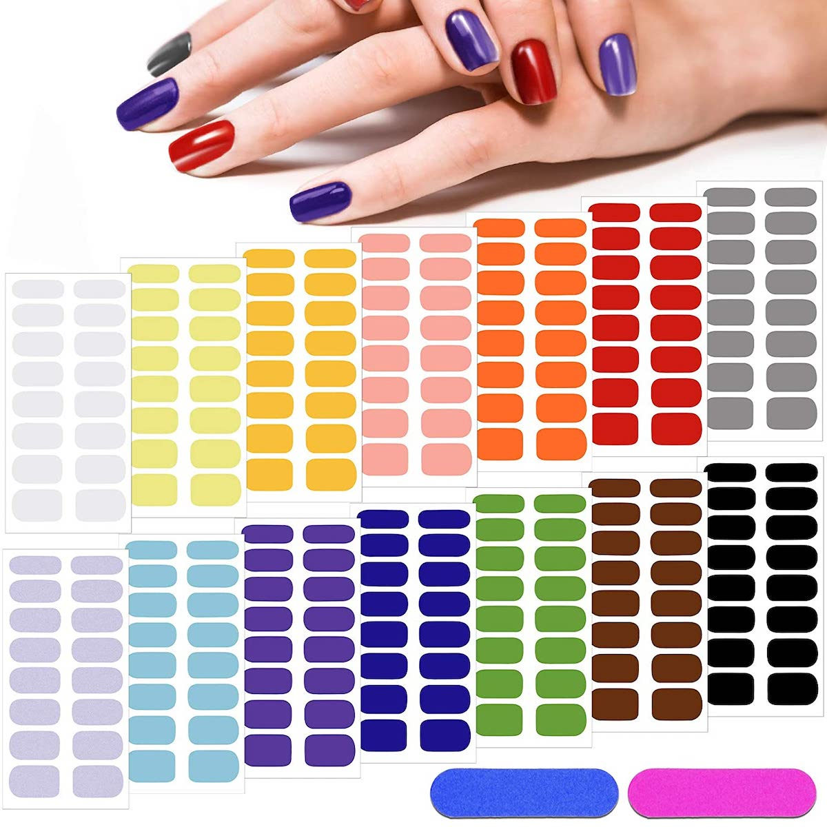 Best nail polish strips and stickers 12
