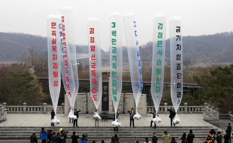 South Korean Propaganda Leaflets