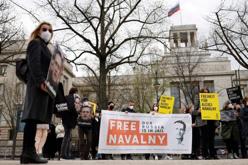 Free Navalny Protest