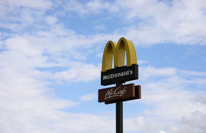 McDonald's Sign Against Sky