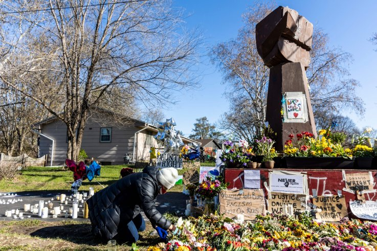 Daunte Wright memorial