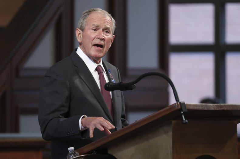 George W. Bush Police Reform George Floyd