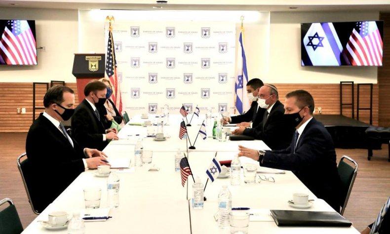 us, israel, embassy, security, talks