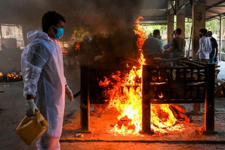 India Indian hospital fire COVID-19 ward kills