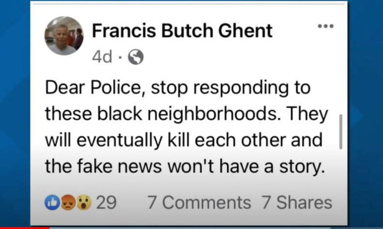 francis butch ghent facebook post