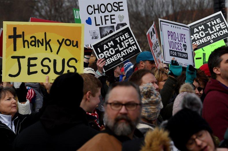 anti-abortion protest pro-life