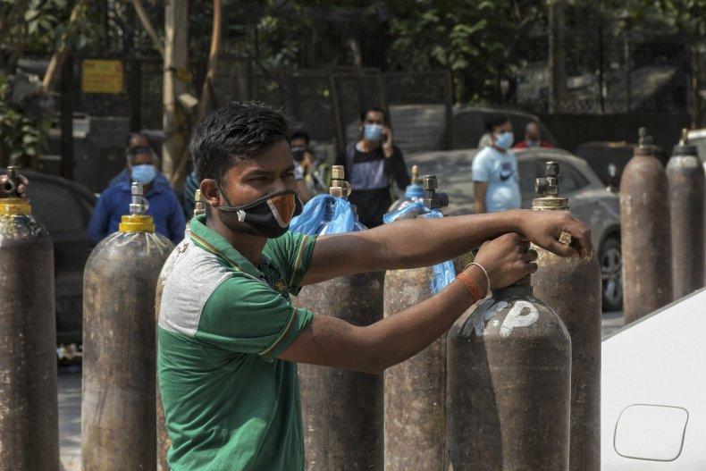 India Oxygen Shortage COVID-19