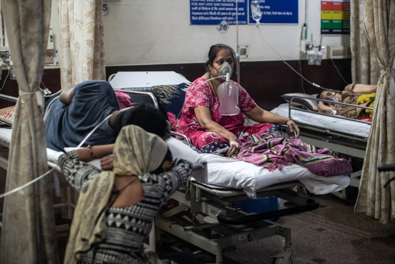 India Hospital Oxygen Supply