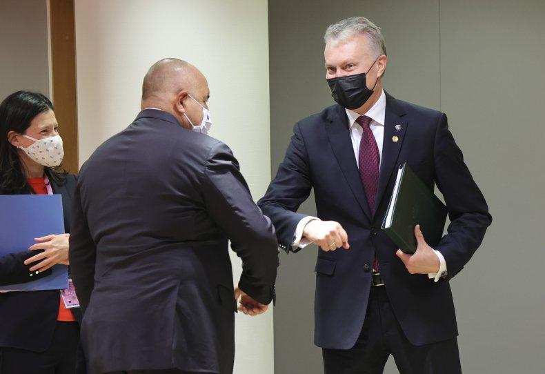 Lithuania President Gitanas Nauseda