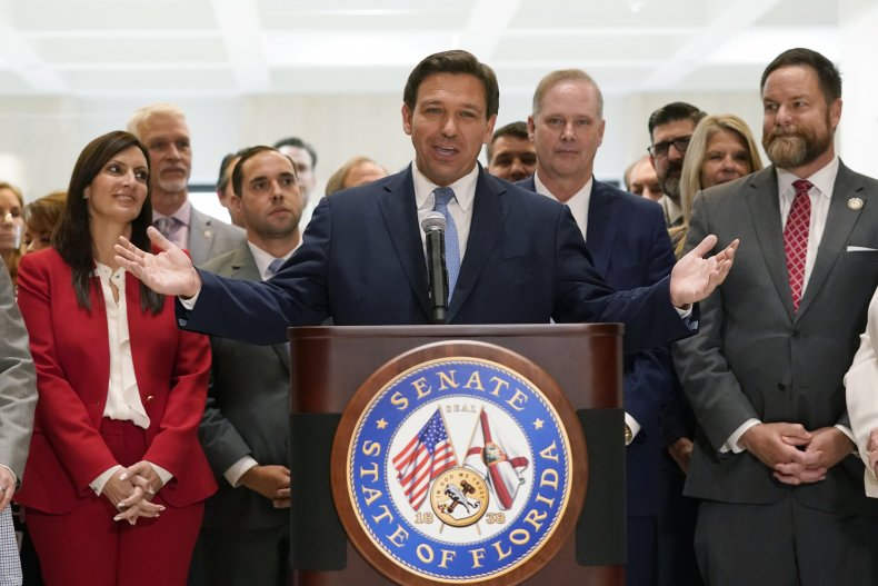 DeSantis Florida Law