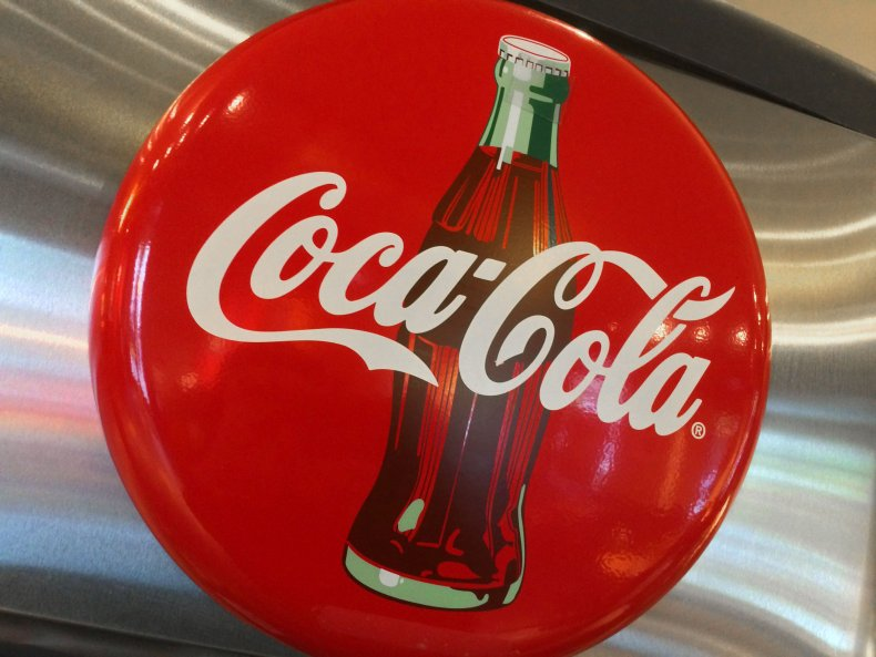 Coca-Cola logo in restaurant in Washington, D.C.