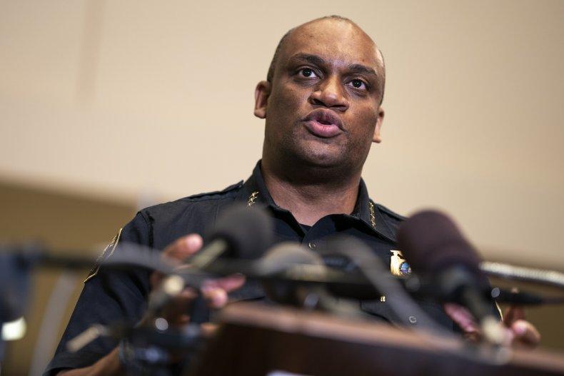 Portland Police Bureau Chief Chuck Lovell