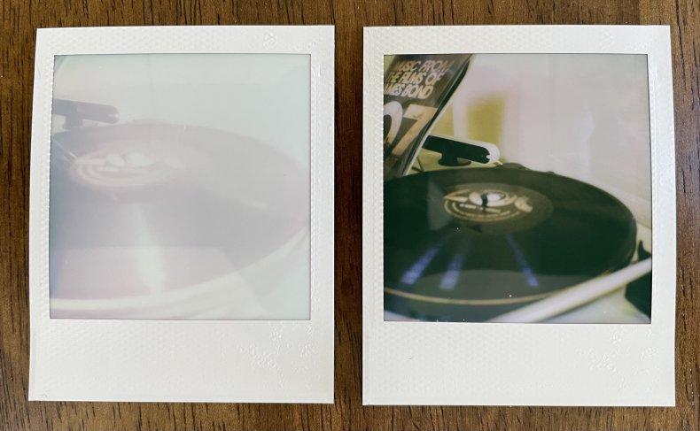Polaroid Go camera