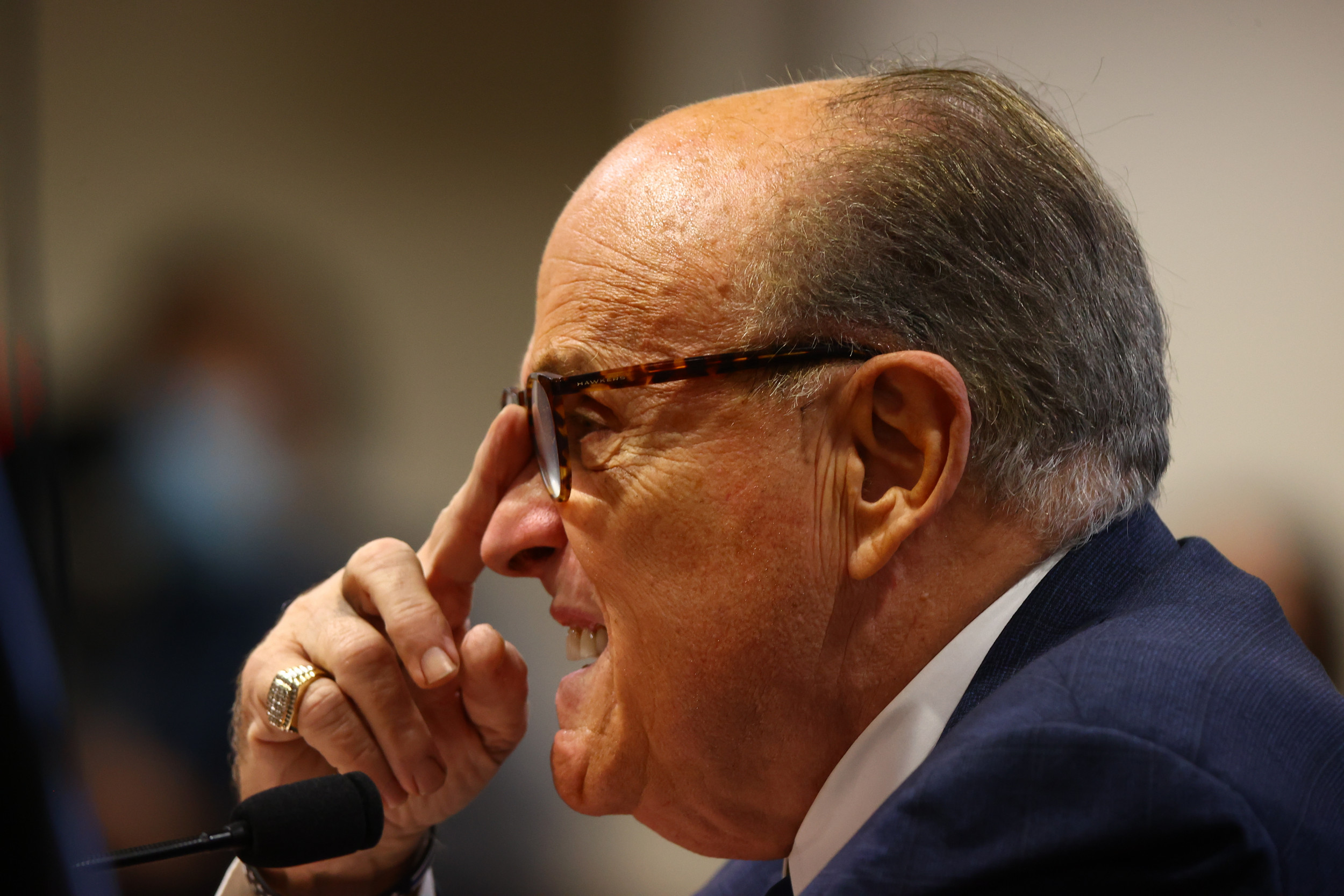 Rudy Giuliani Says He's 'Biggest Anti-Communist,' Not a 'Russian Agent' thumbnail