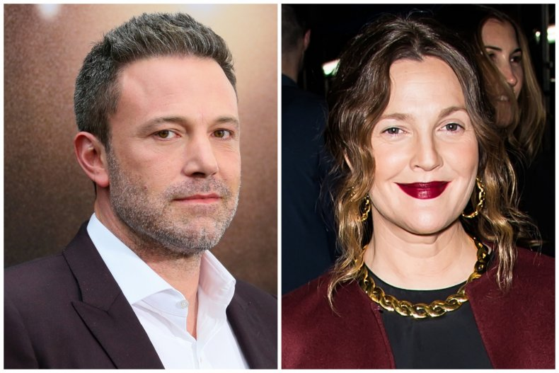Ben Affleck and Drew Barrymore