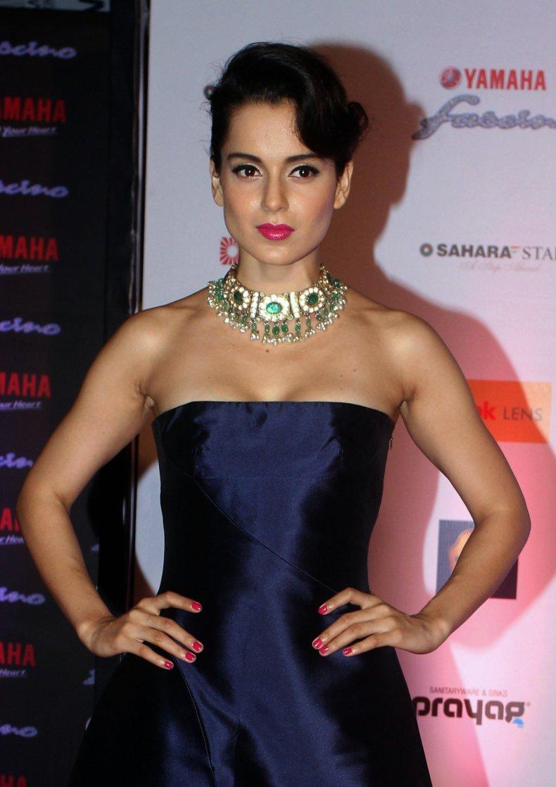 Indian Bollywood actress Kangana Ranaut