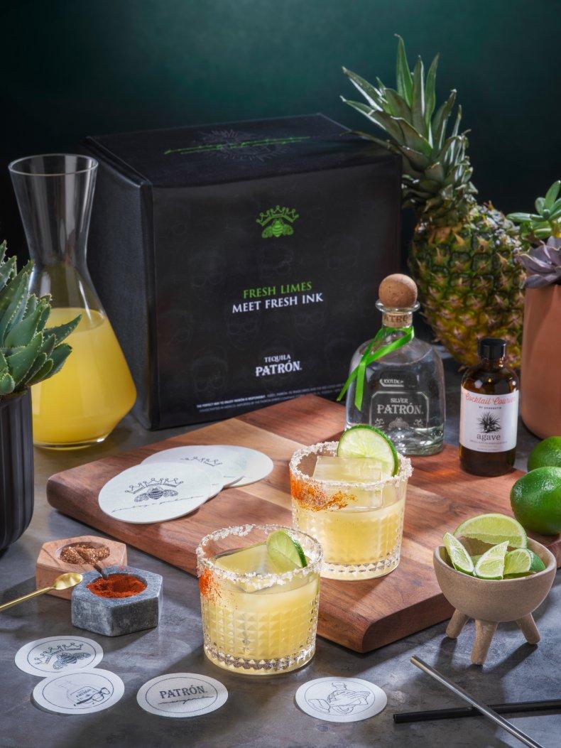 Cinco de Mayo Patrón Tequila Kit