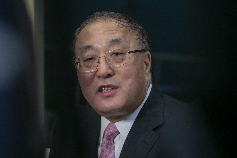 China UN Ambassador Biden North Korea