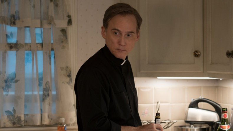 father dan Mare of Easttown