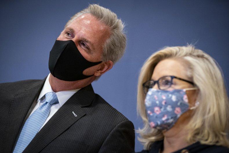 Kevin McCarthy, Liz Cheney
