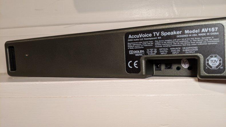 Zvox AV157 TV Speaker Review