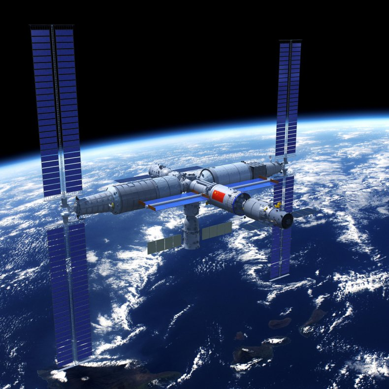 china, space, station, rendering