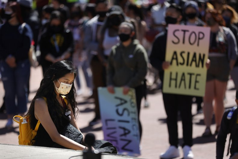 Stop Asian Hate protest in SF