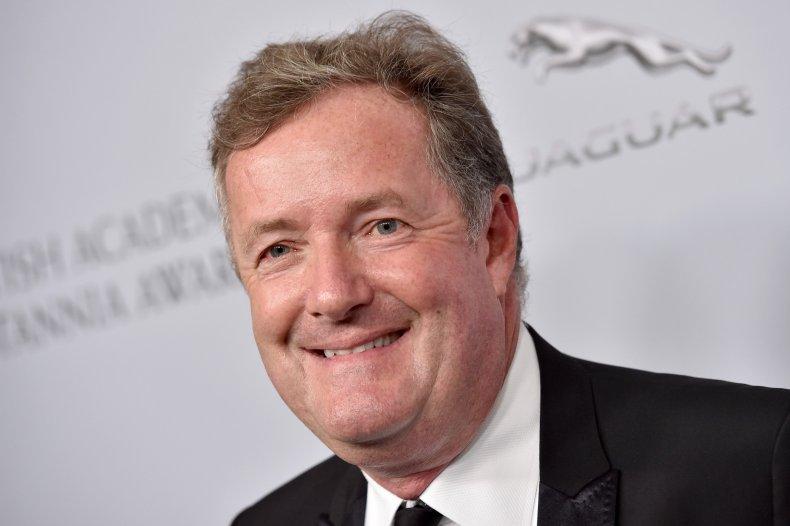 Piers Morgan in California
