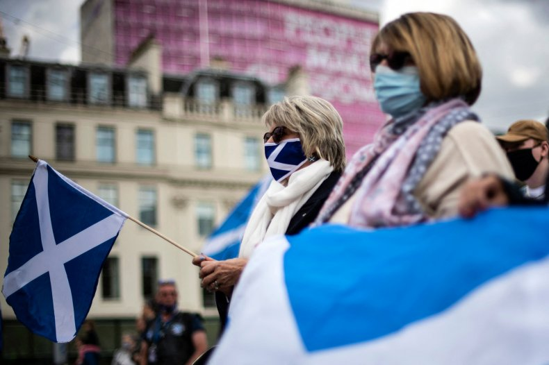 Scotland Independence Protests