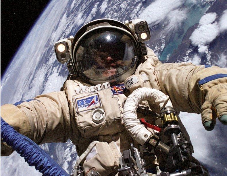 nasa astronaut Mike Fincke spacewalk