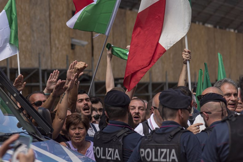 Fascists are active in Italy