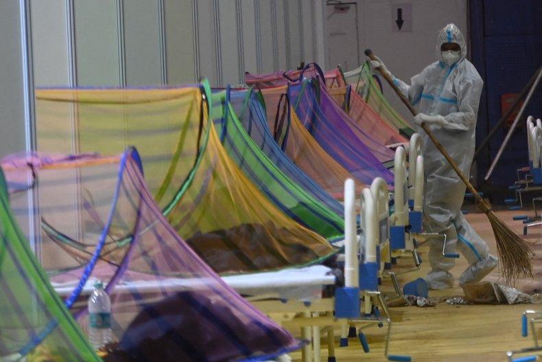 India Converted hospital