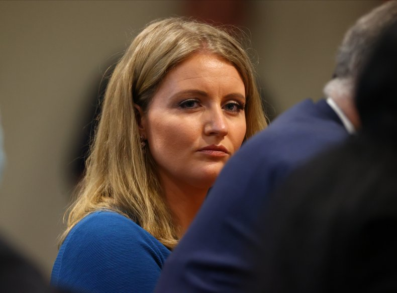 Jenna Ellis attends Michigan House hearing