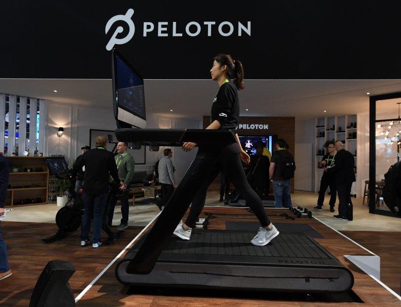 Peloton recall of treadmill machines