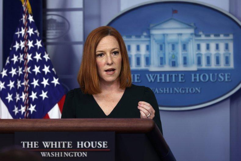 Jen Psaki White House briefing May 2021