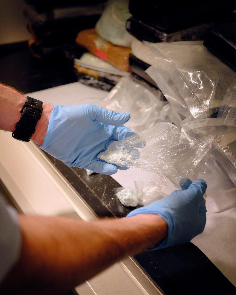 dea, lab, fentanyl, new york, newsweek