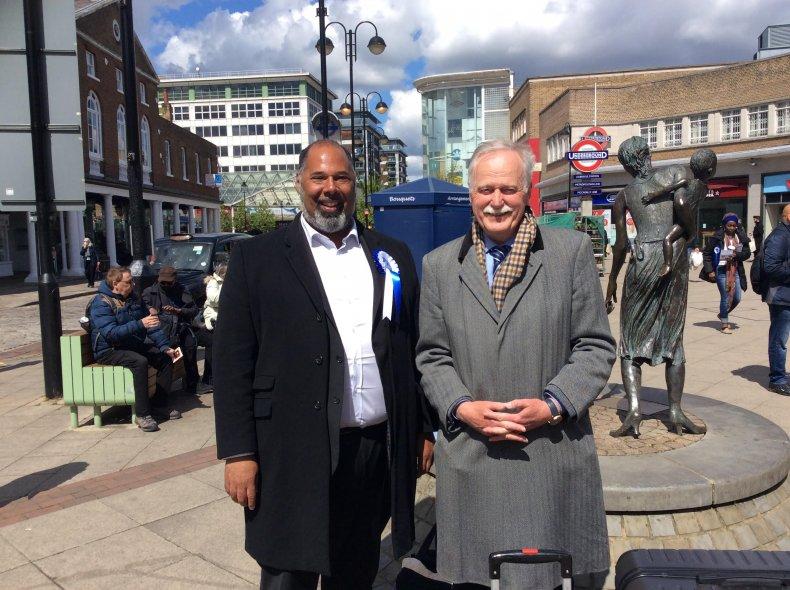 David Kurten and Pastor Peter Simpson