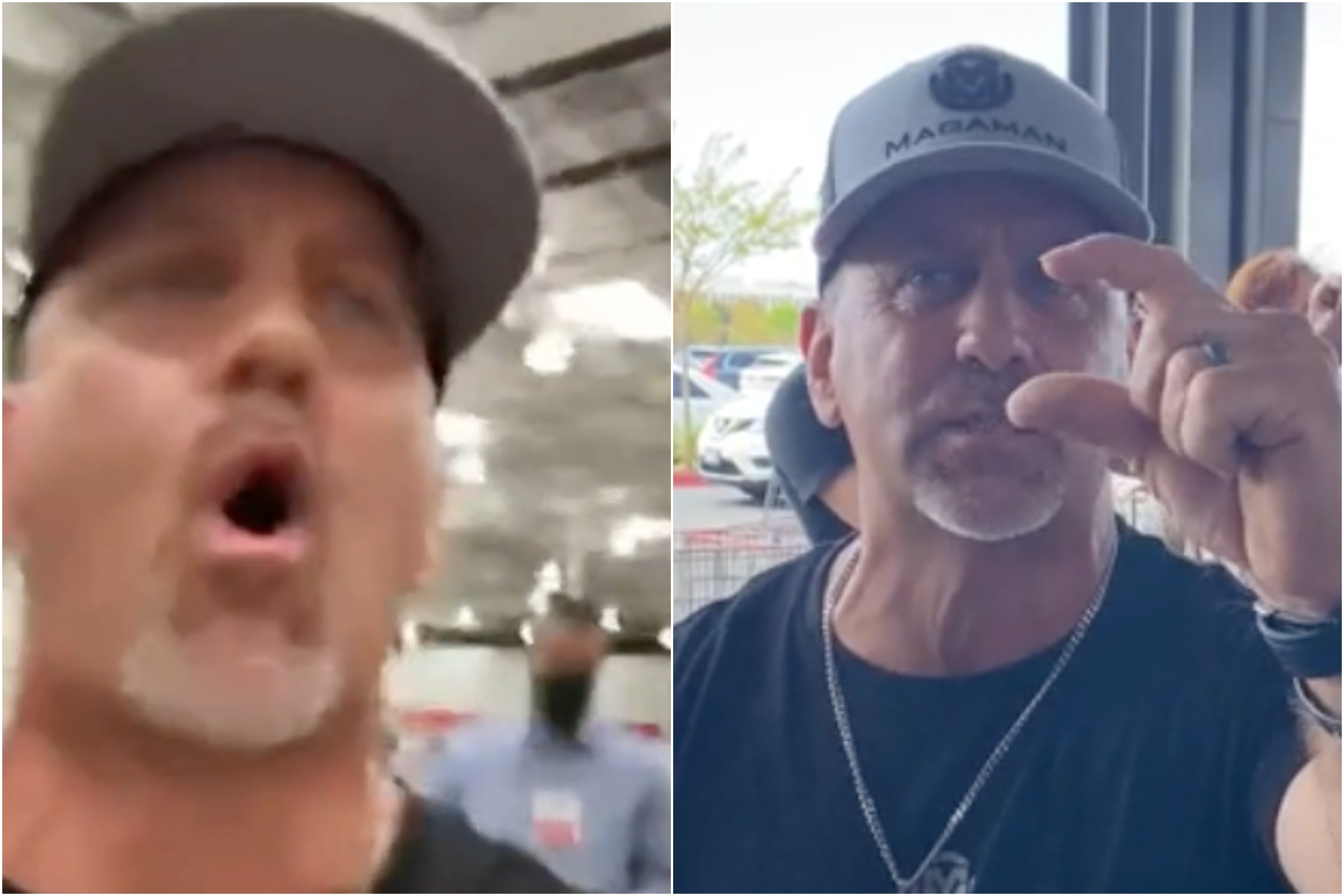 'Where's The Men At?': Anti-Masker Goes Viral for One-Man Protest in Costco