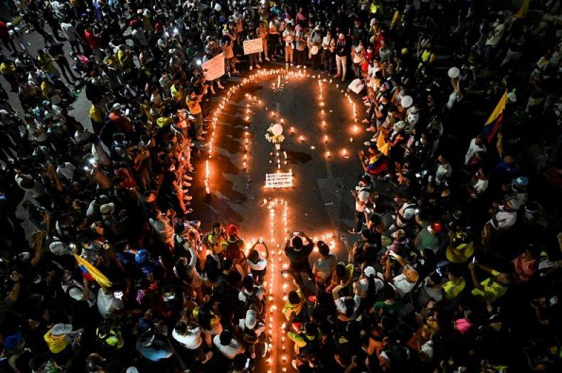 Colombia Protests Death Tax Reform Poverty Coronavirus