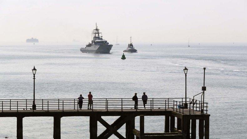 royal, navy, patrol, ship, tyne, guernsey