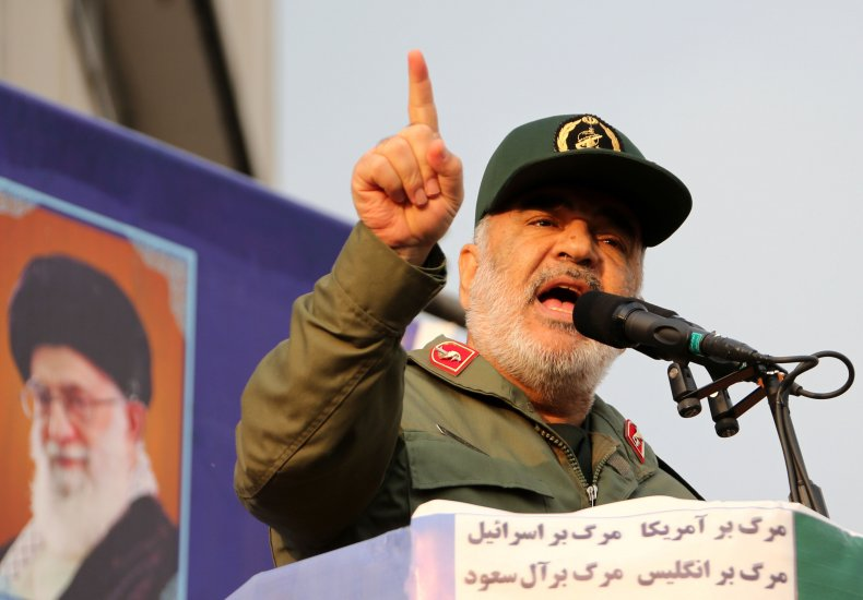 iran, irgc, hossein, salami, rally
