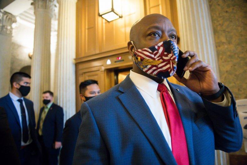 Pat Fallon Tim Scott Democrats Republicans Texas