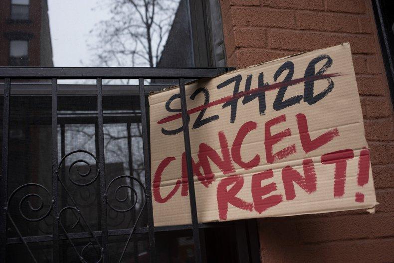 Cancel rent protest